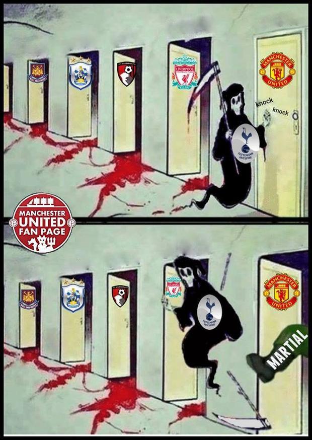 Chuỗi trận ấn tượng của 'thần chết' Tottenham bị chặn đứng khi tới gặp Man Utd.