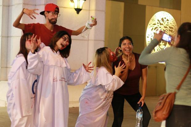 Ngày Halloween vốn là Ngày lễ hội quỷ của các nước phương Tây, song những năm gần đây đã trở nên quen thuộc với giới trẻ Việt.