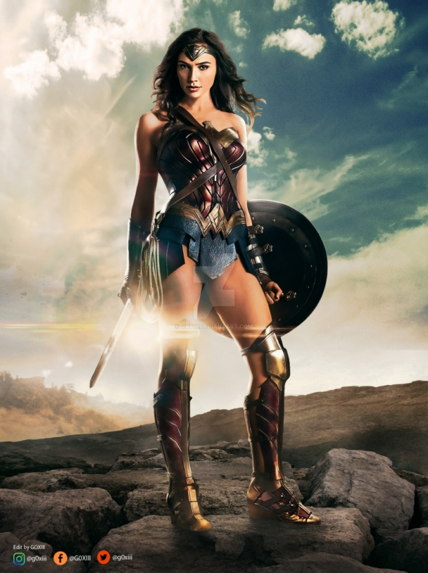 Wonder Woman trong phim Justice League.