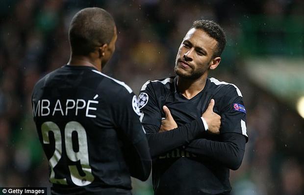 Neymar và Kylian Mbappe sẽ không cùng trong đội hình xuất phát của PSG