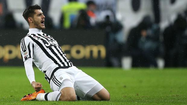 """Tiền đạo người TBN từng thi đấu rất thăng hoa trong màu áo """"bà đầm già"""" thành Turin."""