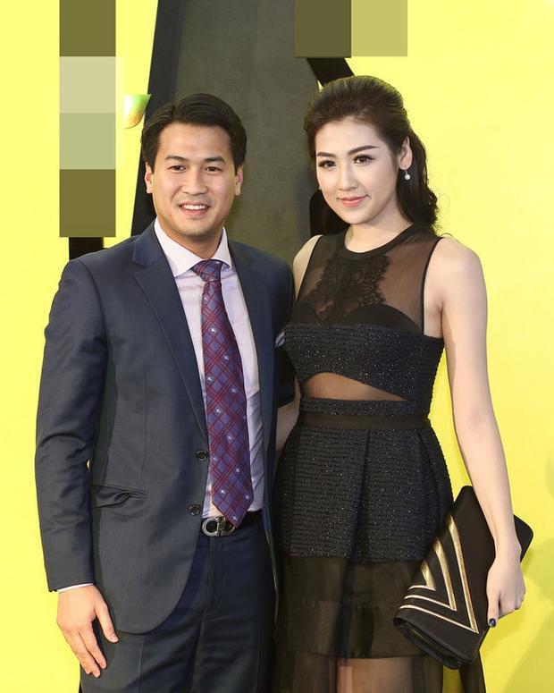 Trước đó, Tú Anh và Phillip Nguyễn cũng từng xuất hiện trong một sự kiện thời trang ở Hà Nội.
