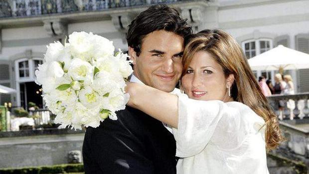 Federer và Mirka về cùng một nhà năm 2009