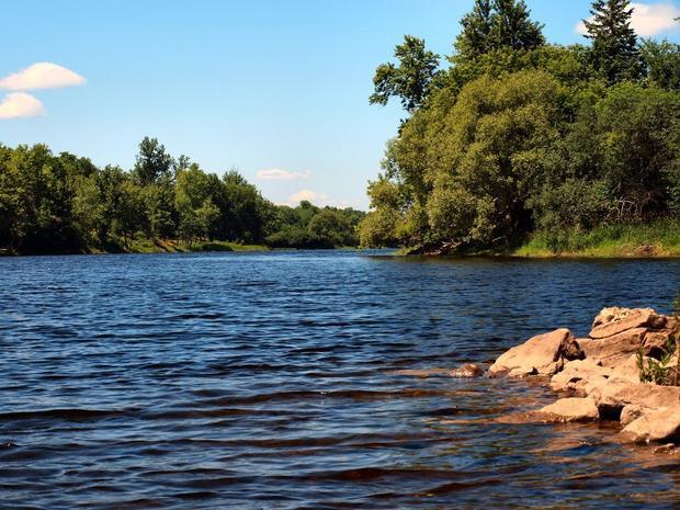 Hệ thống sông Mississippi trải dài hơn 2.500 dặm từ Vịnh Mexico đến hồ Itasca ở phía bắc trung tâm Minnesota.