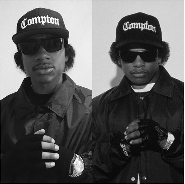 Isaiah Thomas khá hiền khi nhập vairapper Eazy-E.