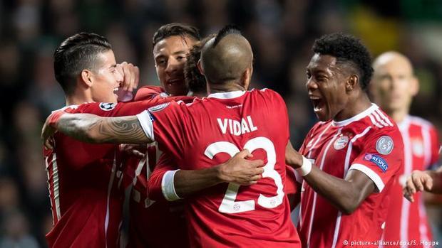 Bayern khép lại tháng 10 hoàn hảo