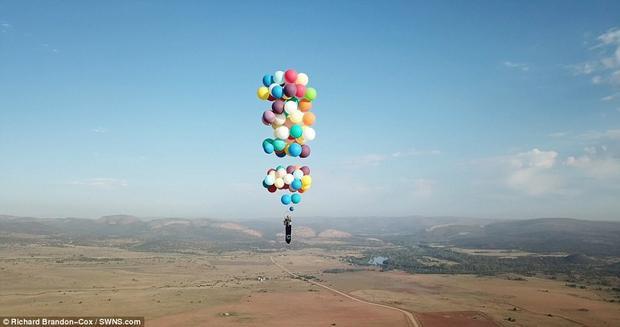 Du hành bằng bóng bay: chuyện tưởng chỉ có trong Up