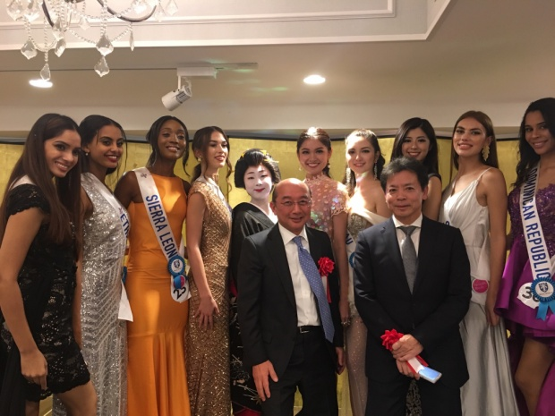 Á hậu Thuỳ Dung khiến fan lo lắng vì bỗng dưng mất tích ở Miss International 2017