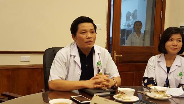 Ông Nguyễn Duy Ánh, Giám đốc Bệnh viện Phụ sản Hà Nội.