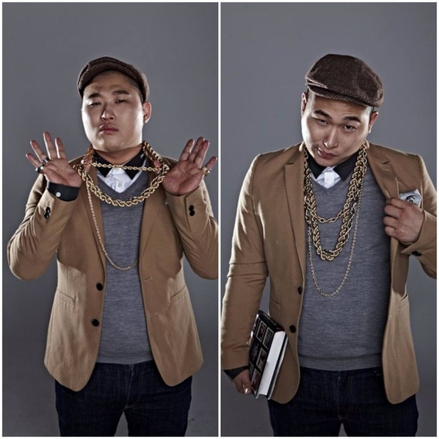 Chàng rapper khó tính với những biểu cảm hài hước Swings.