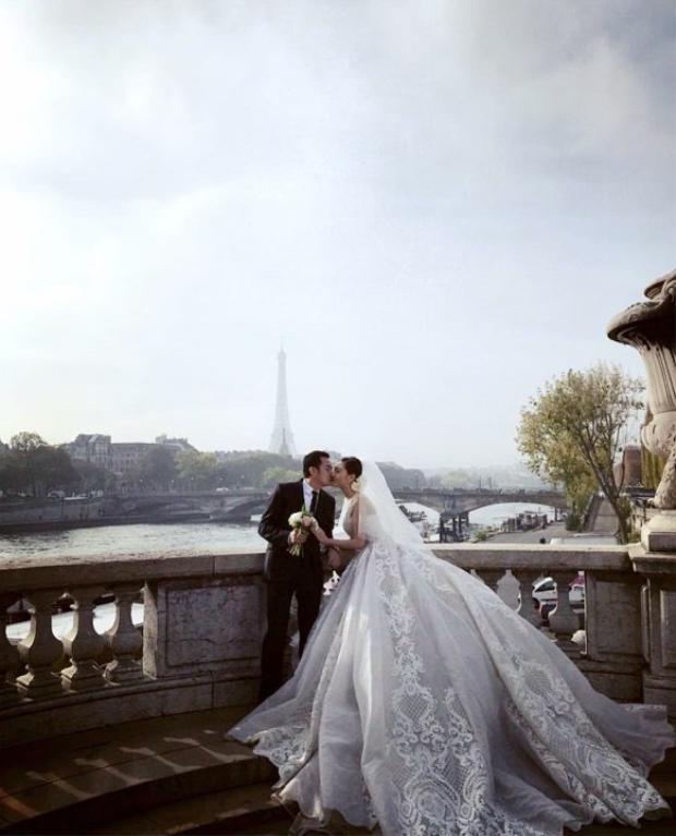 Rò rỉ ảnh cưới của Ngọc Duyên cùng bạn trai doanh nhân hơn 18 tuổi
