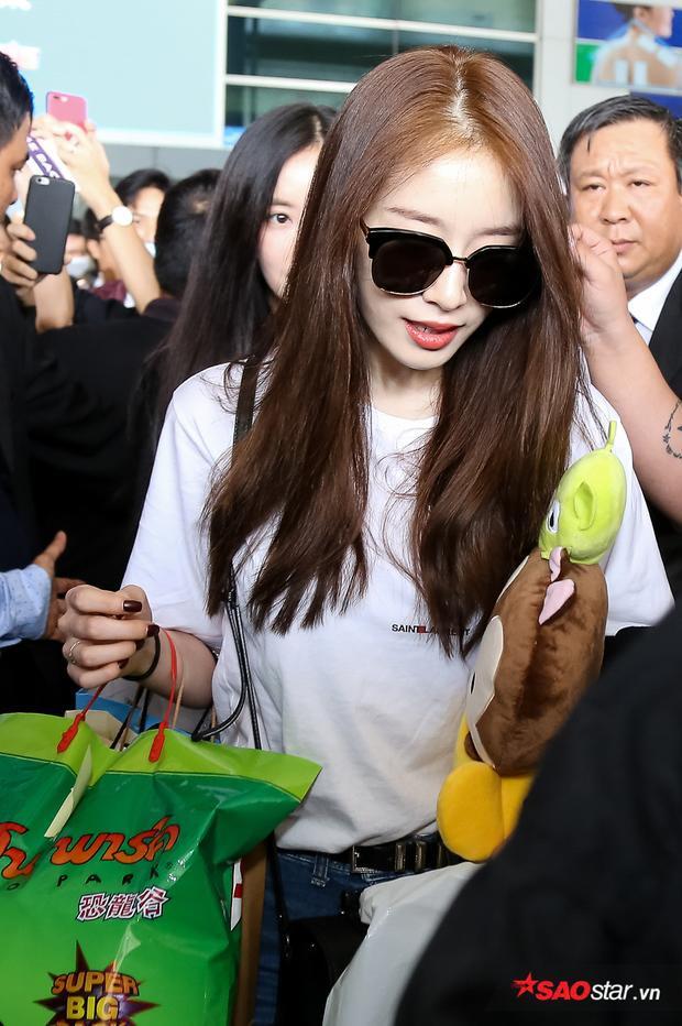 Em út Jiyeon rạng rỡ không kém.