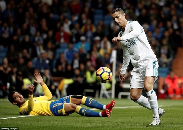Ronaldo vẫn chưa ghi bàn trở lại tại La Liga