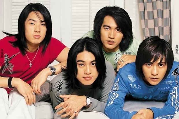 Bốn anh chàng F4 phiên bản Đài Loan.