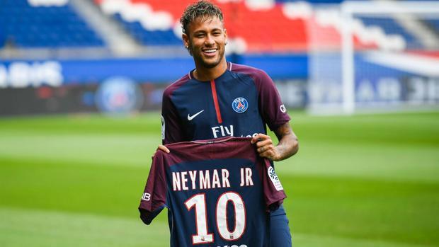 Neymar là cầu thủ có giá trị cao nhất hiện tại.