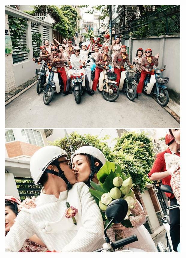 Đám cưới đậm chất 60 năm cuộc đời siêu vui nhộn của cặp đôi dancer Sài Gòn