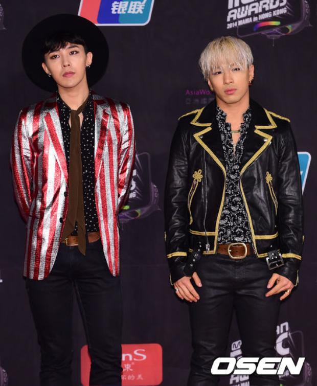 Tới tham dự lễ trao giải còn có cậu bạn thân G-Dragon.