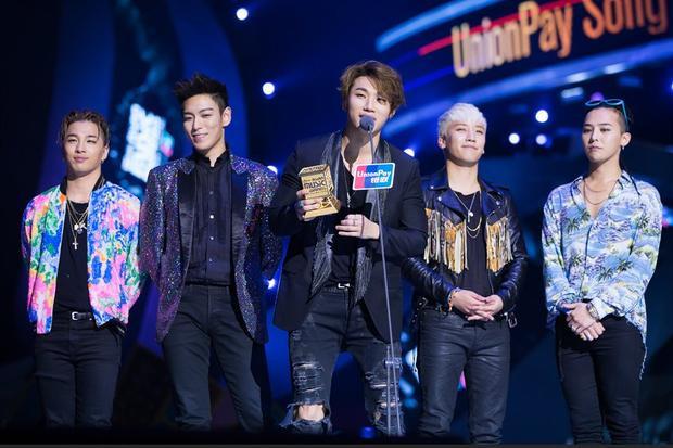 BigBang lần đầu tiên thắng 2 giải Daesang tại MAMA 2015.