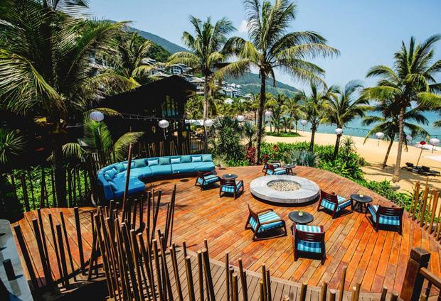 Quang cảnh từ một căn phòng tại khu nghỉ dưỡng. Tại đây, du khách có thể sưởi ấm dưới ánh nắng của miền nhiệt đới.