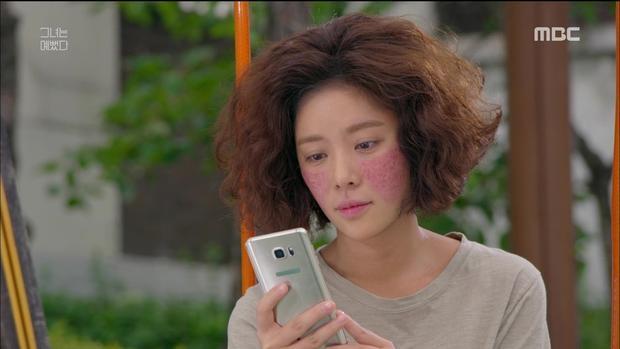 Vẻ ngoài của nữ chính Hye Jin.