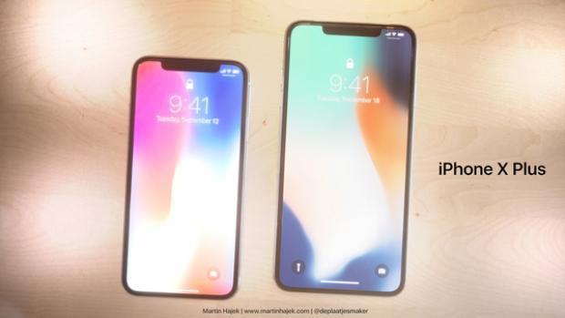 Nếu trở thành hiện thực, iPhone X Plus với màn hình 6,7 inch sẽ là chiếc iPhone lớn nhất trong lịch sử Apple. Hiện nay danh hiệu này thuộc về chiếc iPhone X với màn hình 5,8 inch.