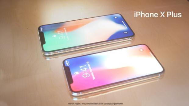 Thiết kế iPhone X Plus hoàn toàn tương đồng iPhone X.