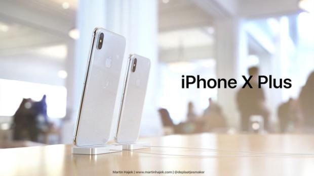 Cận cảnh iPhone X Plus đẹp ngất ngây với màn hình khủng 6,7 inch