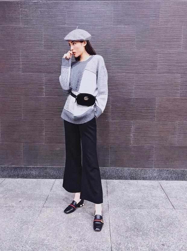 Xét về tổng thể, bộ đồ này của Kỳ Duyên đơn giản nhưng vẫn rất đẹp, thể hiện gu thẩm mỹ đang tốt lên từng ngày của cô nàng.