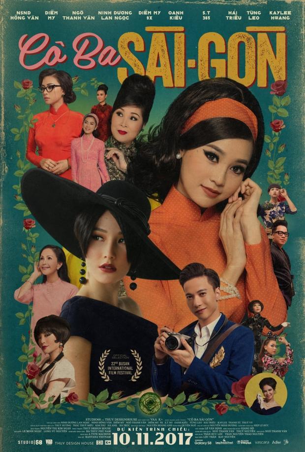 Diễm My 9x trong Cô Ba Sài Gòn là 1 bước tiến xa sau thành công Gái già lắm chiêu