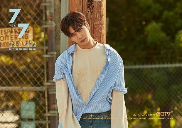 """Jackson đốn tim người hâm mộ bởi bộ ảnh đẹp """"ná thở"""" để quảng bá cho album 7 FOR 7."""