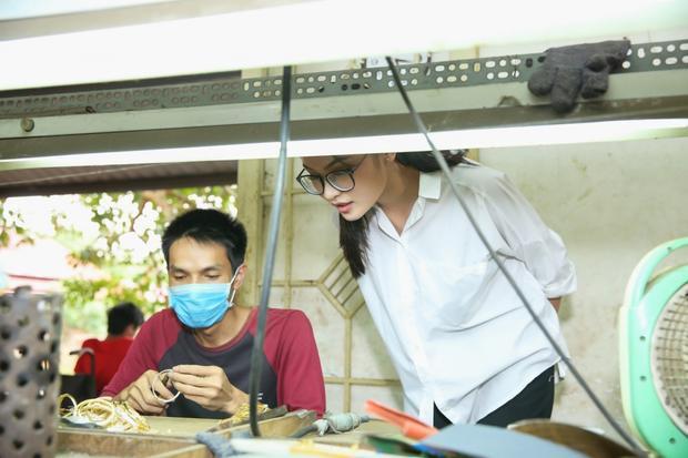 Á hậu Thuỳ Dung cố gắng trở lại thi đấu dù chưa hết hẳn bệnh thủy đậu