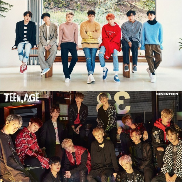 Ngày 6/11 với sự trở lại của Super Junior, Seventeen…