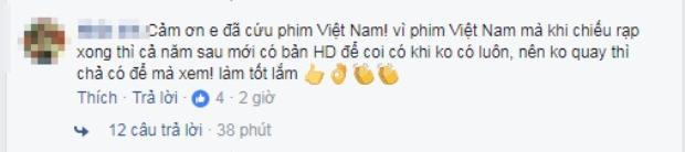 Không thể tin có nhiều người ủng hộ việc livestream phim Cô Ba Sài Gòn