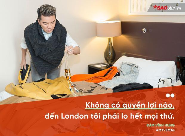 Mr. Đàm nói về MTV EMAs: Không có quyền lợi nào, đến London tôi phải lo hết mọi thứ