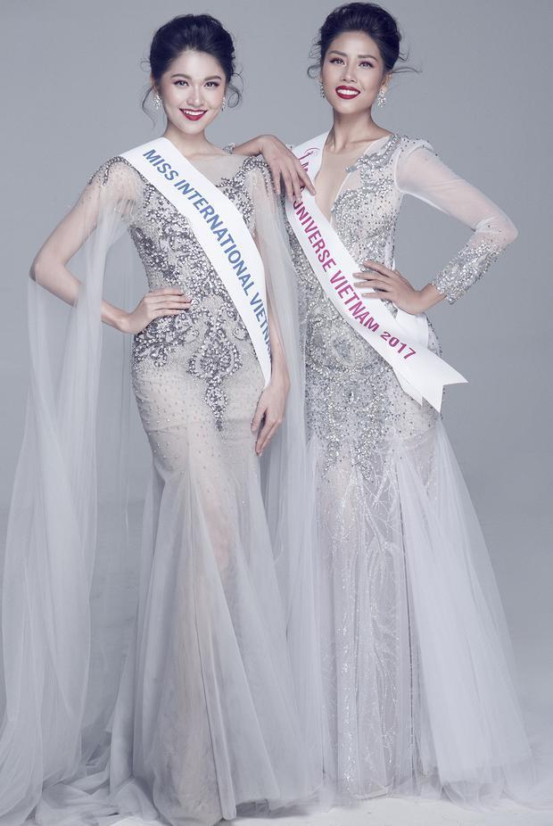 Hai người đẹp có mối quan hệ khá tốt, thân thiết với nhau trong showbiz Việt.