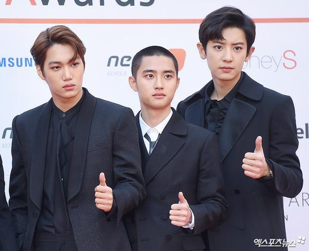 Kai, D.O và Chanyeol