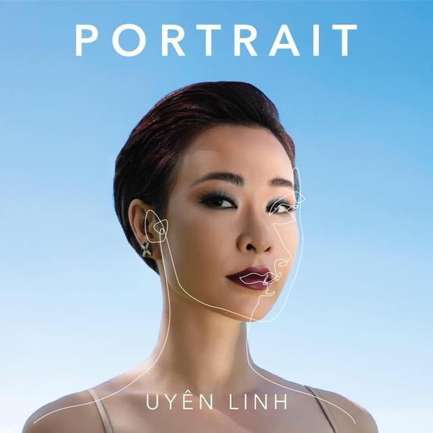 Hình ảnh Uyên Linh trong album mới.