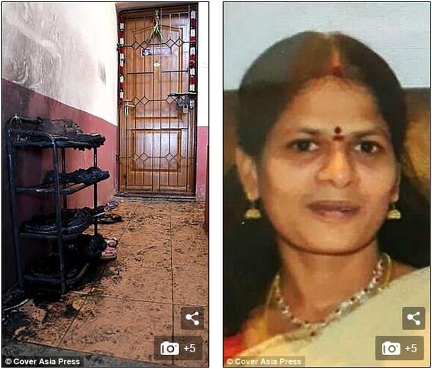 Mẹ của nạn nhân, bà Renuka Mugam hiện vẫn đang trong cơn nguy kịch.