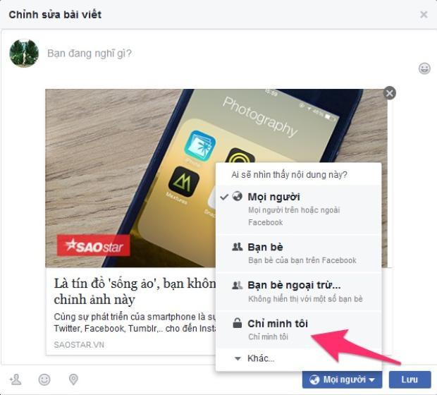 NÓNG: Bạn không thể xoá status trên Facebook được nữa, cân nhắc kỹ trước khi up ảnh sống ảo