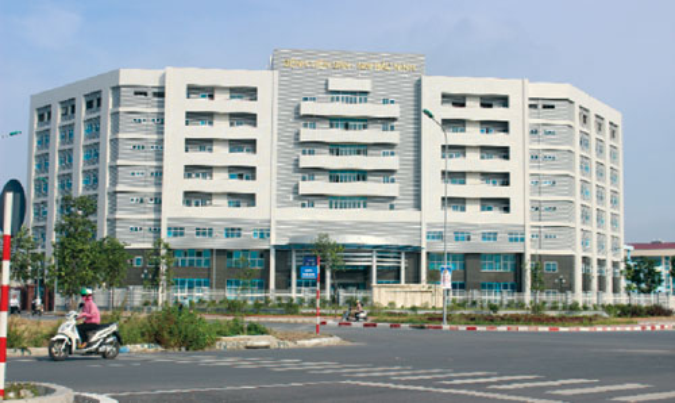 Bệnh viện nơi xảy ra sự việc.