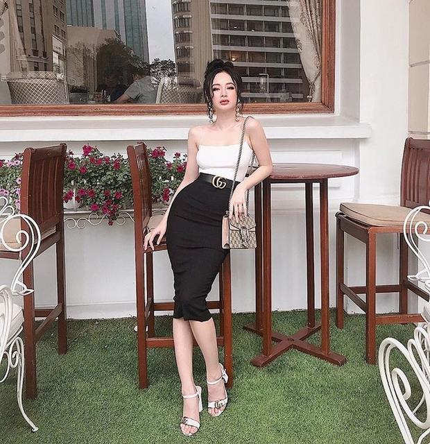 Cô nàng lắm chiêu Angela Phương Trinh cũng không ngần ngại nhuộm tóc màu trầm để tăng phần sang chảnh.