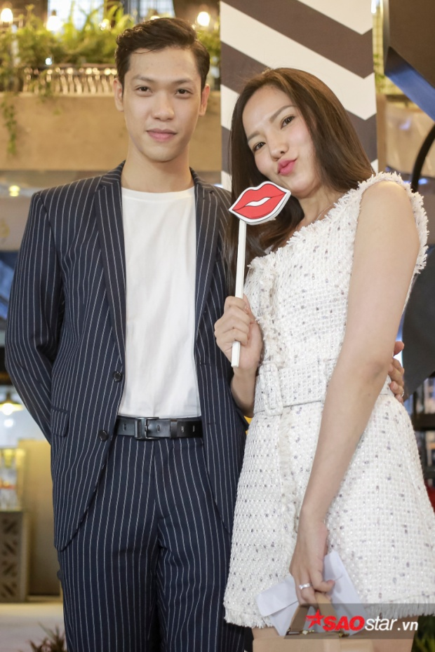 Lý Phương Châu tham gia sự kiện cùng bạn trai Hiền Sến.