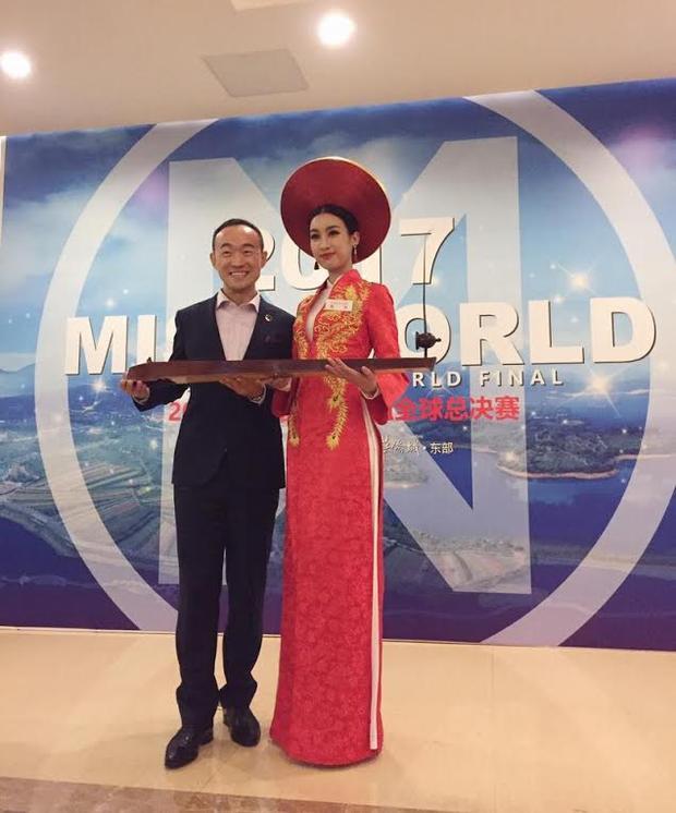 Ngày 23/10, Đỗ Mỹ Linh bước vào phần thi Tài năng. Với sự chuẩn bị kỹ lưỡng, đại diện Việt Nam tự tin thể hiện màn độc tấu bằng đàn bầu. Cô mang đến giai điệu mash-up giữa hai bài hát Trống cơm và We are the world.