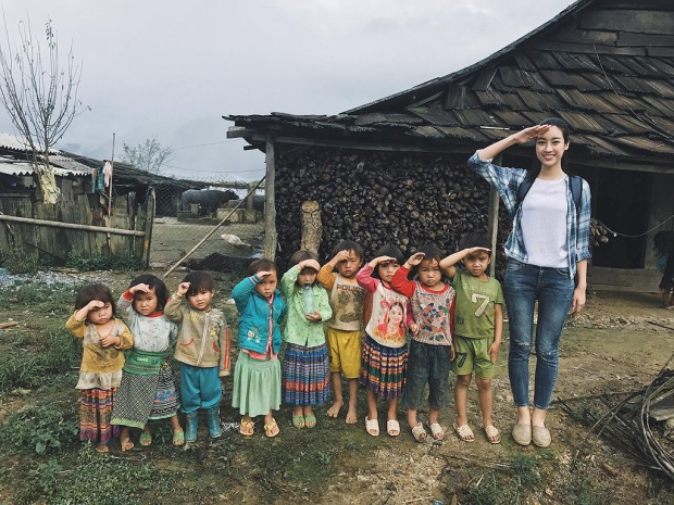 Trước đêm chung kết Miss World 2017, Đỗ Mỹ Linh xuất sắc lọt Top 5 Hoa hậu nhân ái