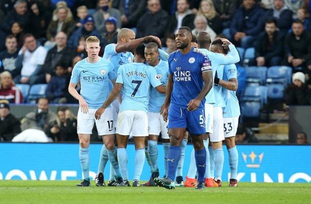 Man City đang bất khả chiến bại ở mùa này.