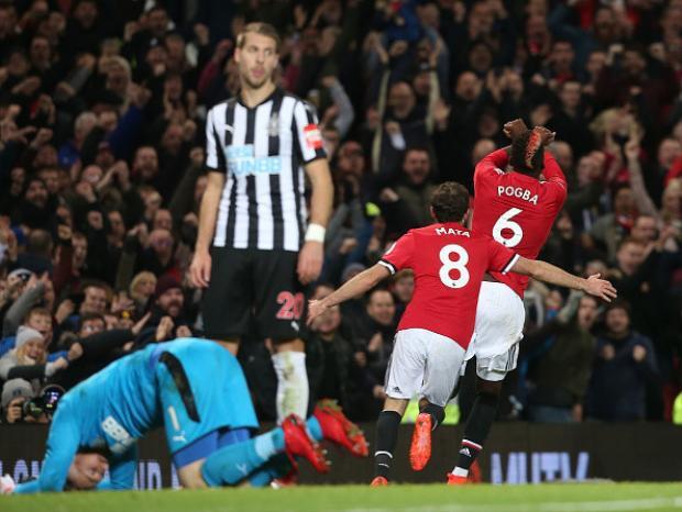 Pogba đánh dấu ngày trở lại ấn tượng với bàn thắng nâng tỷ số lên 3-1 sau một pha băng vào dứt điểm. Bàn thắng ấn định chiến thắng 4-1 của Man United được ghi bởi Lukaku.