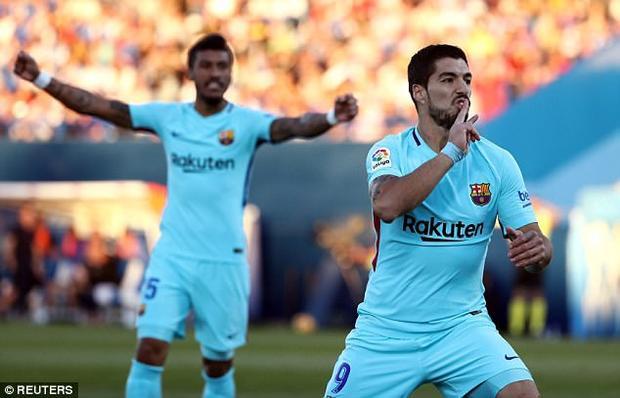 """Phát biểu sau trận đấu, Suarez tỏ ra hồ hởi với cú đúp của mình: """"Tôi hoàn toàn không hề lo lắng về việc ghi bàn trong trận đấu này. Chắc chắn điều đó sẽ diễn ra vì chúng tôi muốn giữ vị trí của mình"""". Phát biểu này của Suarez làm nóng mặt khá nhiều fan của Leganes."""