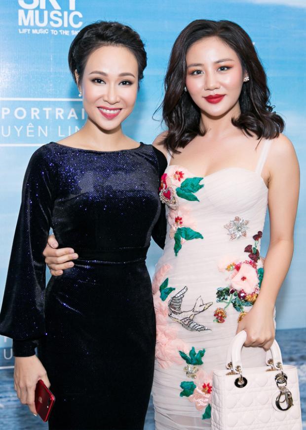 Văn Mai Hương trong sự kiện ra mắt album 'Chân dung' (Portrait) của Uyên Linh.
