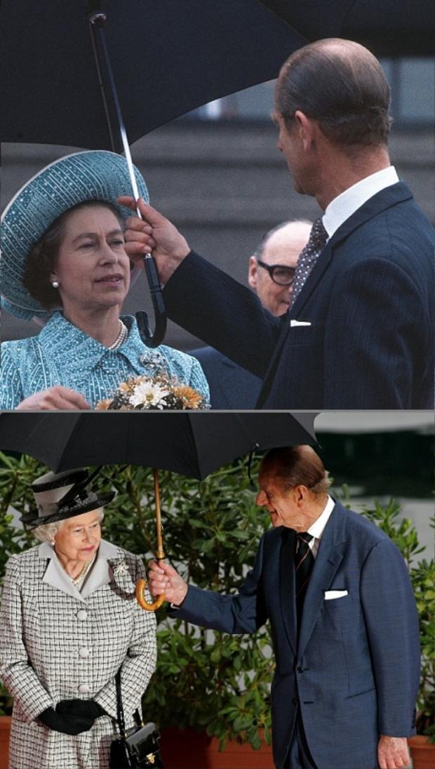 """Hoàng thân luôn dành sự quan tâm cho """"Lilibet của ông"""", từ những điều nhỏ nhặt nhất."""