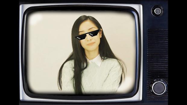 Jun Vũ kiêu kỳ đúng với ngoại hình xinh đẹp như một ngôi sao của mình.